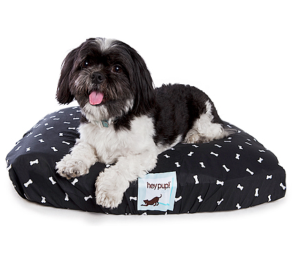 Memory Foam dog bed with washable cover Hey Pup Treats a la Bark