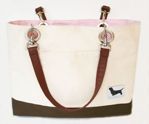 Dog Tote Bag Blueblood Living Treats a la Bark